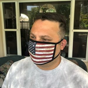2 for $30! American Flag face mask